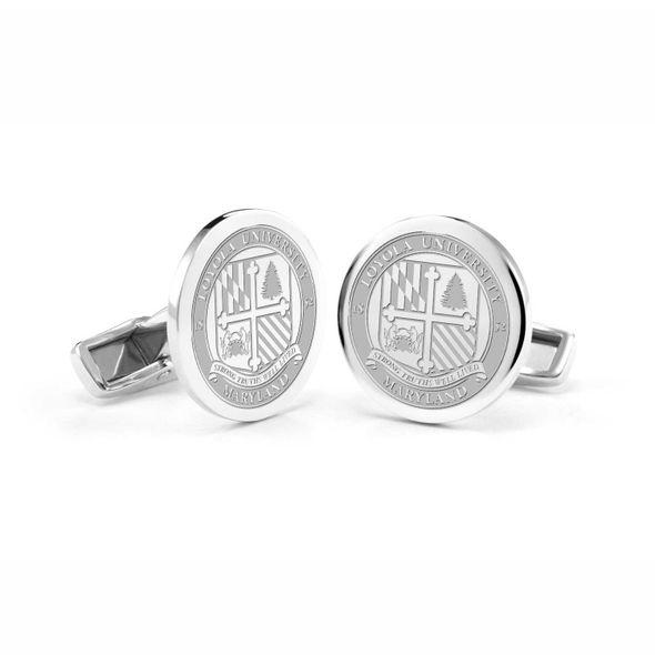 Loyola Cufflinks in Sterling Silver - Image 1