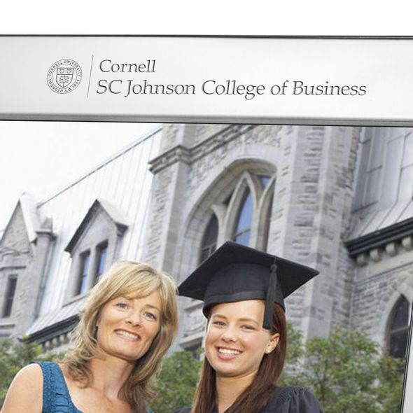 SC Johnson College Polished Pewter 8x10 Picture Frame - Image 2