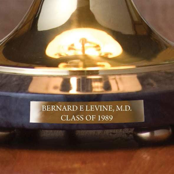 Davidson College Lamp in Brass & Marble - Image 3