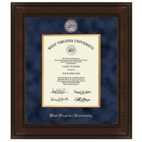 West Virginia University Diploma Frame - Excelsior