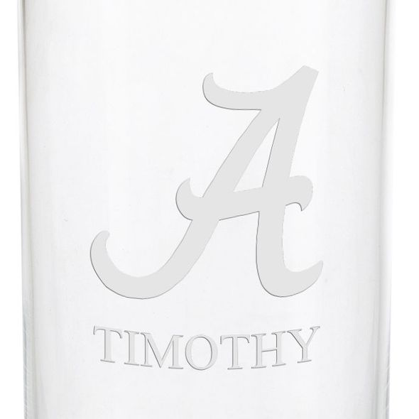 University of Alabama Iced Beverage Glasses - Set of 4 - Image 3