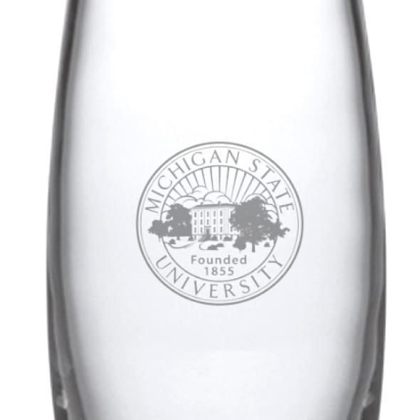 Michigan State Glass Addison Vase by Simon Pearce - Image 2