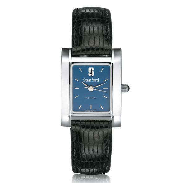 Stanford Women's Blue Quad Watch with Leather Strap - Image 2