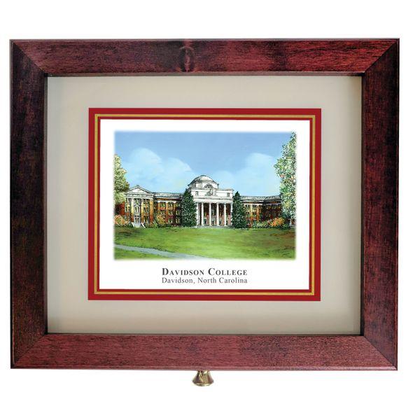 Davidson College Eglomise Desk Box