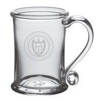 Georgia Tech Glass Tankard by Simon Pearce