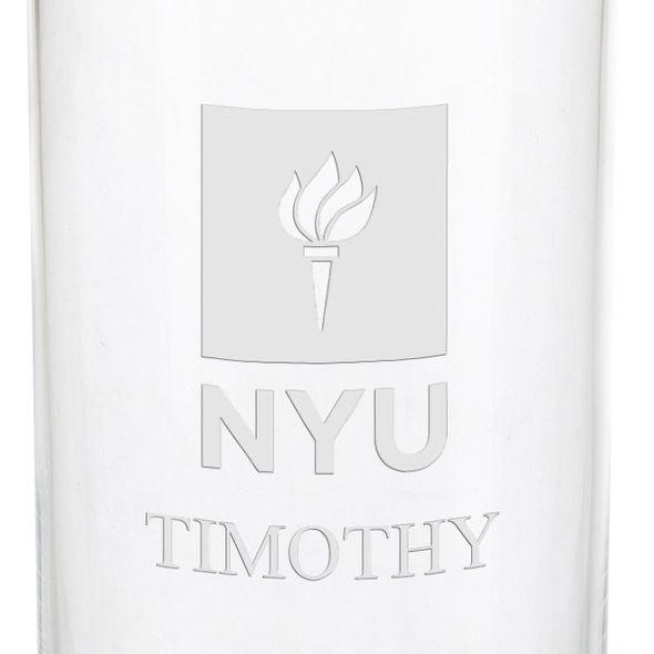New York University Iced Beverage Glasses - Set of 4 - Image 3
