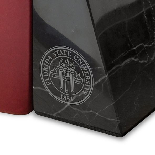 FSU Marble Bookends by M.LaHart - Image 2