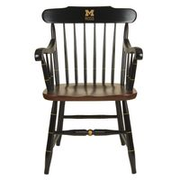Michigan Ross Captain's Chair by Hitchcock