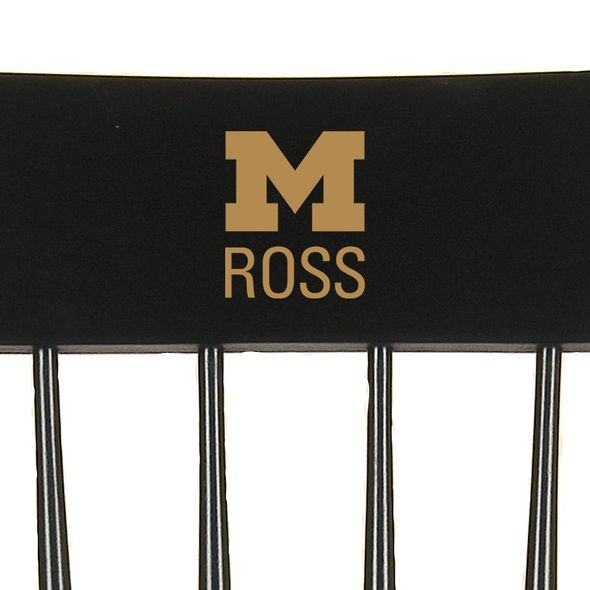 Michigan Ross Captain's Chair by Hitchcock - Image 2