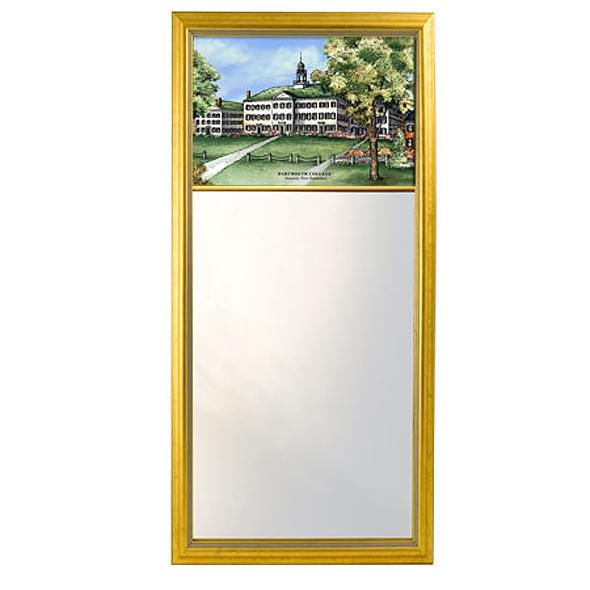 Dartmouth Eglomise Mirror with Gold Frame - Image 2