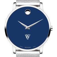Washington University in St. Louis Men's Movado Museum with Blue Dial & Mesh Bracelet