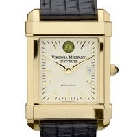 VMI Men's Gold Quad Watch with Leather Strap