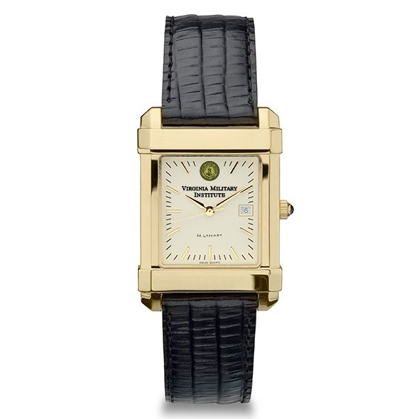 VMI Men's Gold Quad Watch with Leather Strap - Image 2