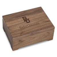 Baylor University Solid Walnut Desk Box