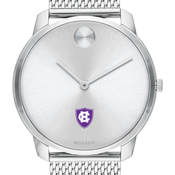 Holy Cross Men's Movado Stainless Bold 42