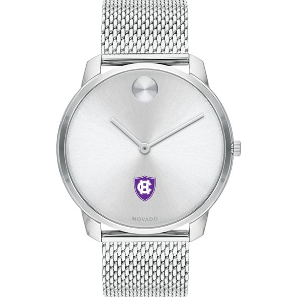 Holy Cross Men's Movado Stainless Bold 42 - Image 2