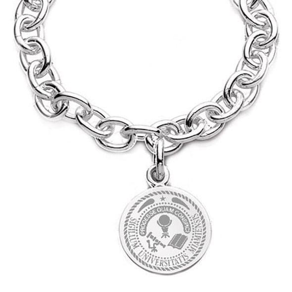 Miami University Sterling Silver Charm Bracelet - Image 2