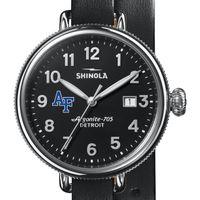 USAFA Shinola Watch, The Birdy 38mm Black Dial
