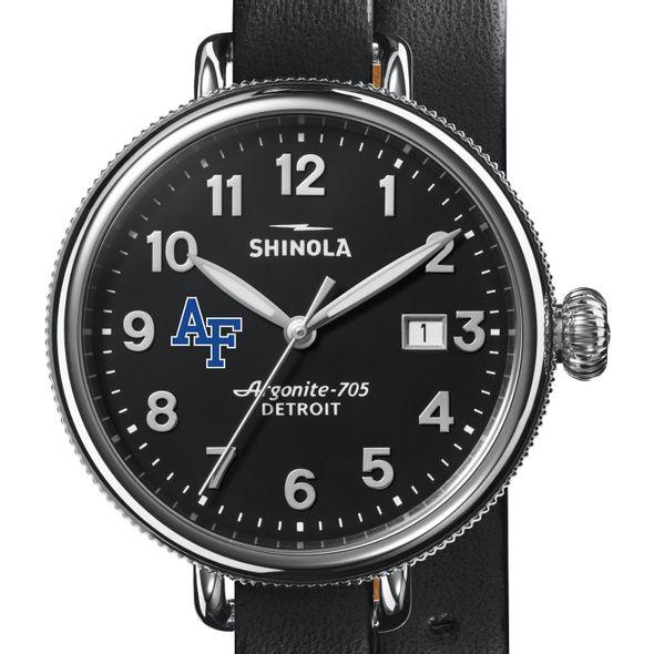 USAFA Shinola Watch, The Birdy 38mm Black Dial - Image 1