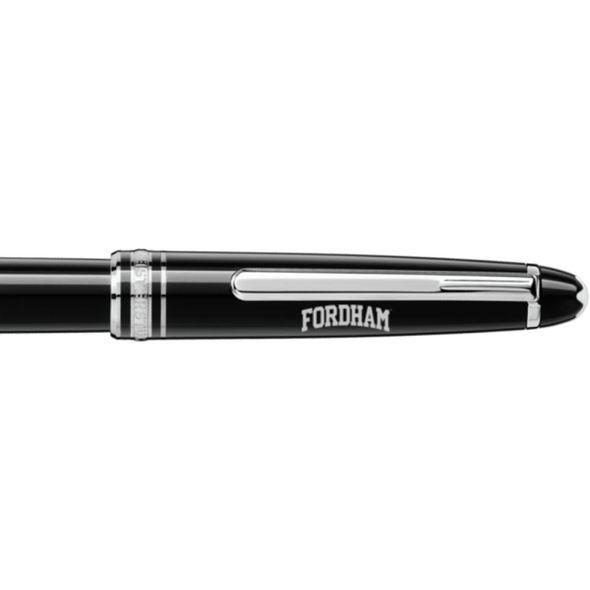 Fordham Montblanc Meisterstück Classique Rollerball Pen in Platinum - Image 2