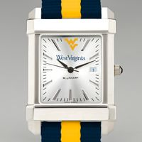 West Virginia University Collegiate Watch with NATO Strap for Men