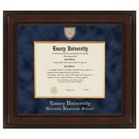 Emory Goizueta Diploma Frame - Excelsior