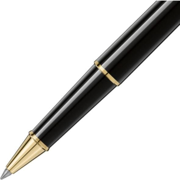 George Washington University Montblanc Meisterstück Classique Rollerball Pen in Gold - Image 3