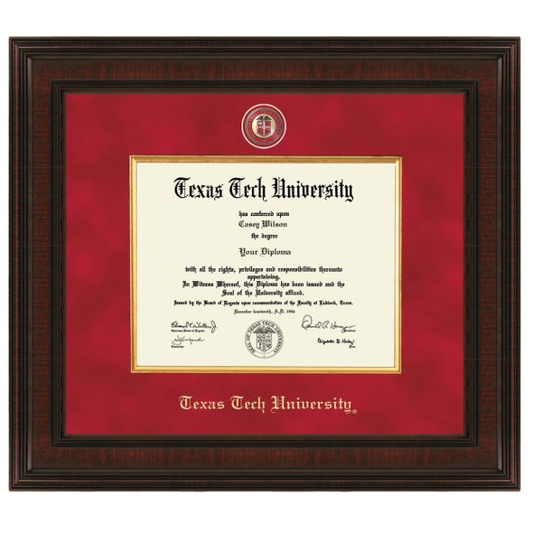 Texas Tech Diploma Frame - Excelsior