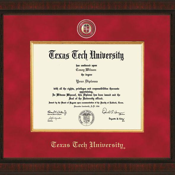 Texas Tech Diploma Frame - Excelsior - Image 2