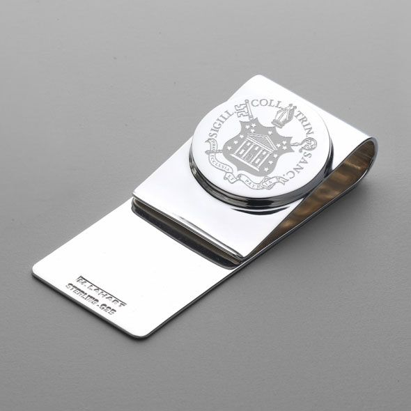 Trinity College Sterling Silver Money Clip