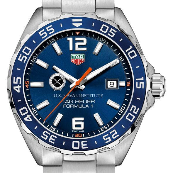U.S. Naval Institute Men's TAG Heuer Formula 1 with Blue Dial & Bezel