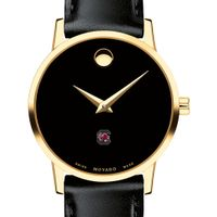 University of South Carolina Women's Movado Gold Museum Classic Leather