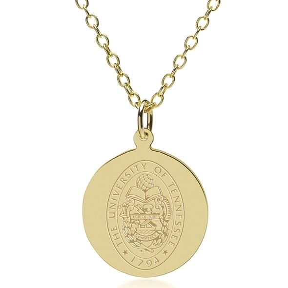 Tennessee 18K Gold Pendant & Chain - Image 1