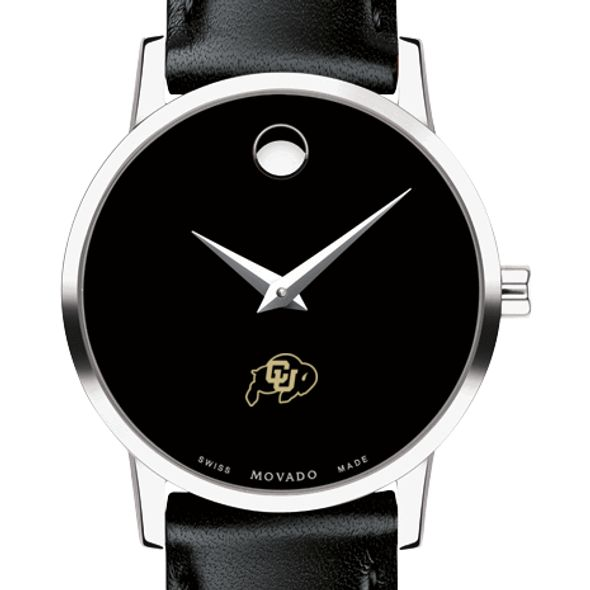 Colorado Women's Movado Museum with Leather Strap - Image 1