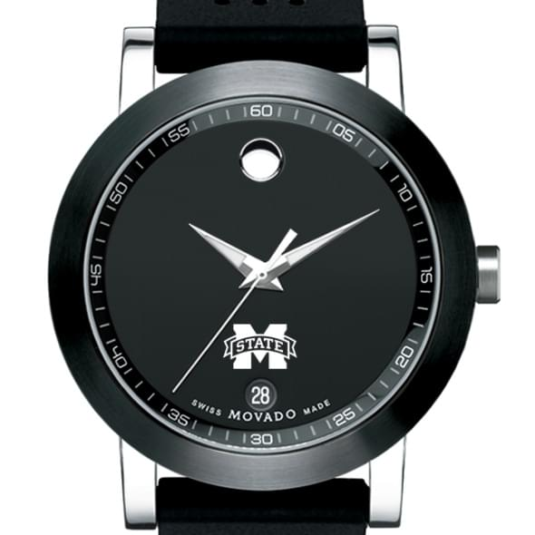Mississippi State Men's Movado Museum Sport Rubber Strap