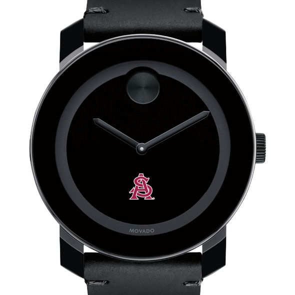 Arizona State Men's Movado BOLD with Leather Strap
