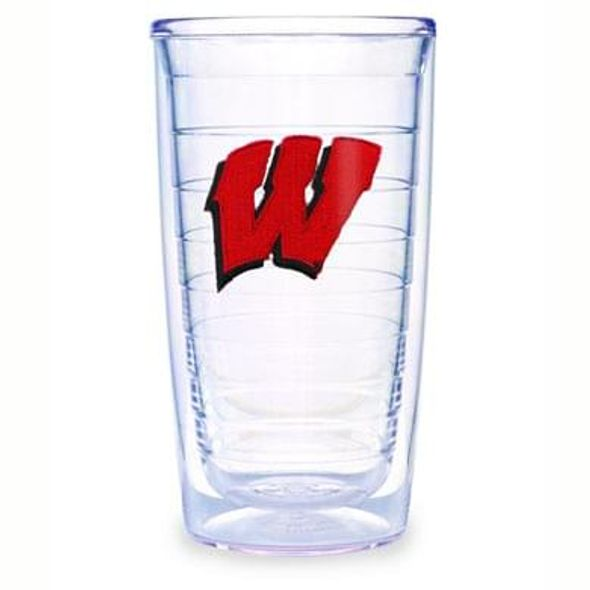 Wisconsin 16 oz Tervis Tumblers - Set of 4