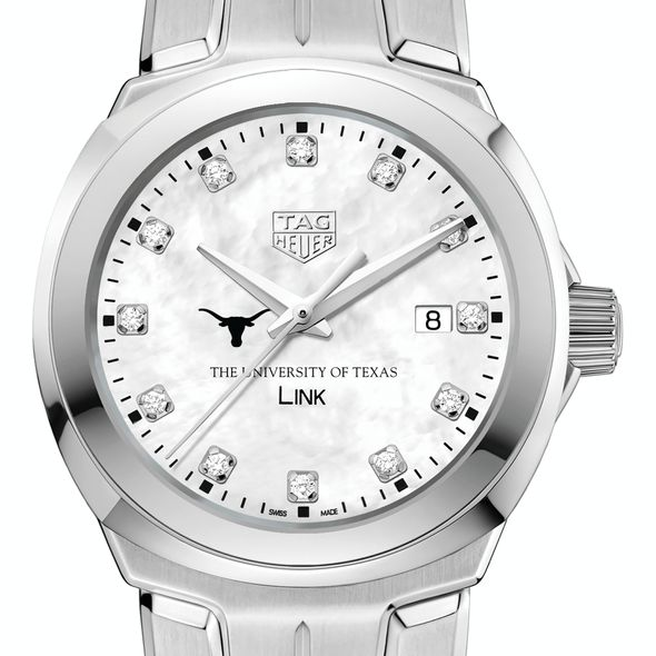 University of Texas TAG Heuer Diamond Dial LINK for Women
