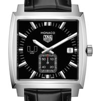 University of Miami TAG Heuer Monaco with Quartz Movement for Men