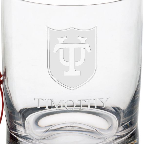 Tulane University Tumbler Glasses - Set of 2 - Image 3