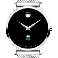 Tulane University Women's Movado Museum with Mesh Bracelet