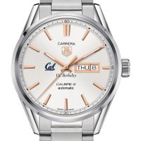 Berkeley Men's TAG Heuer Day/Date Carrera with Silver Dial & Bracelet