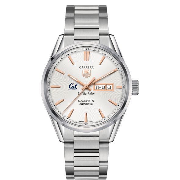 Berkeley Men's TAG Heuer Day/Date Carrera with Silver Dial & Bracelet - Image 2