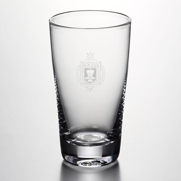 USNA Pint Glass by Simon Pearce - Image 1