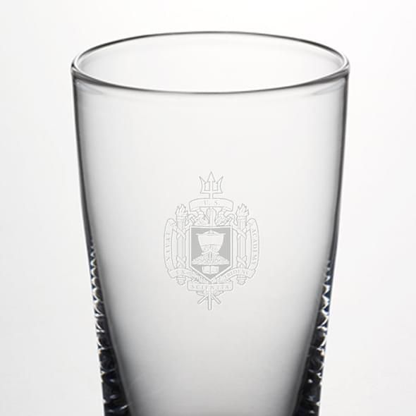 USNA Pint Glass by Simon Pearce - Image 2
