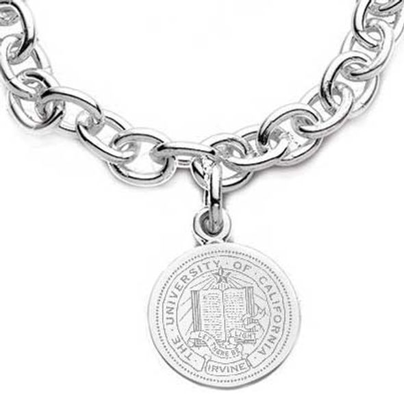 UC Irvine Sterling Silver Charm Bracelet - Image 2