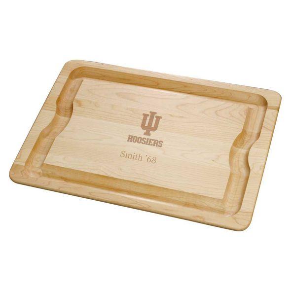 Indiana University Maple Cutting Board - Image 1