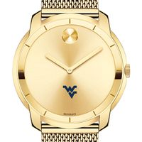 West Virginia University Men's Movado Gold Bold 44