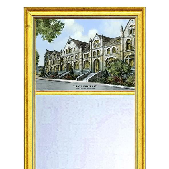 Tulane Eglomise Mirror with Gold Frame - Image 2