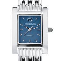 Penn State Women's Blue Quad Watch with Bracelet